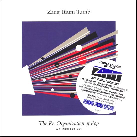 ZTT label - Zang Tumb Tuum.